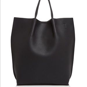 Street Level Gray Clare Tote NWOT